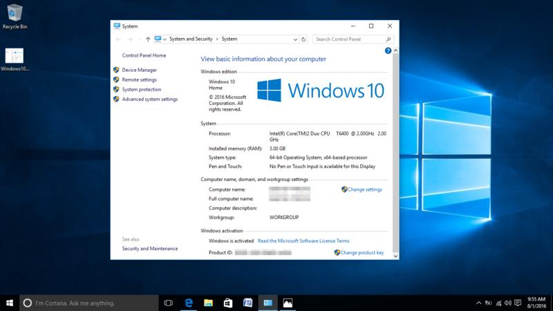 how to upgrade from vista to windows 10
